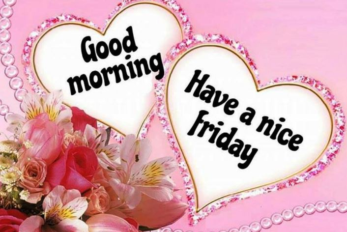 Good morning Friday images and cute lover wishes