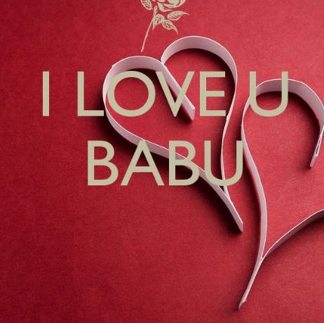 I love you babu images pics photo for whatsapp and dp download hd