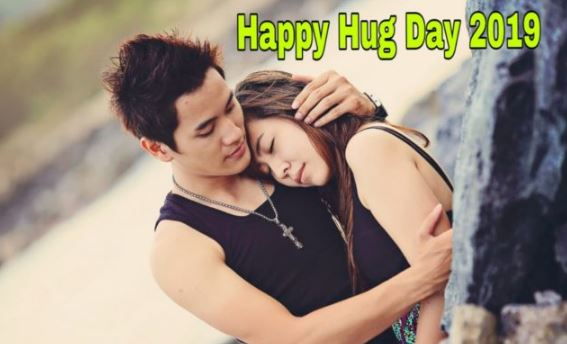 hug day pic boy and girl