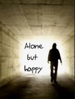 alone but happy dp for whatsapp