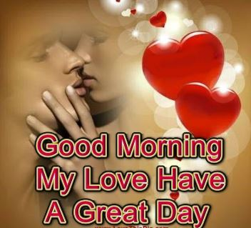 good morning images for lover in english