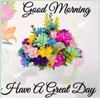 good morning images with flowers for whatsapp and facebook