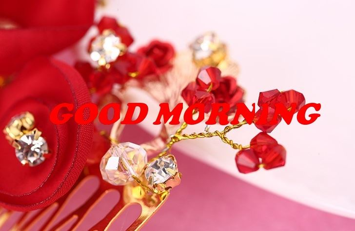 good morning images with cute flowers