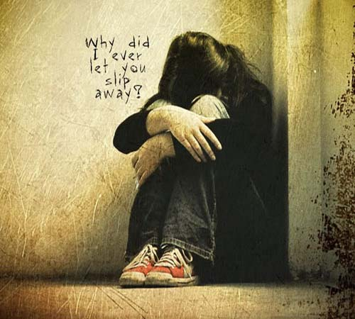 Alone Girl Whatsapp Dp Pictures sad images